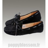 Ugg-312 Dakota noir chaussons