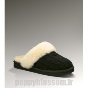 Ugg-326 Knit Cozy Noir chaussons