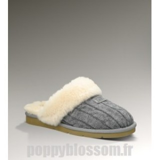 Ugg-328 Knit Cozy Gris chaussons
