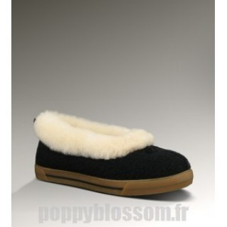 Ugg-336 Laine Rylan noir chaussons