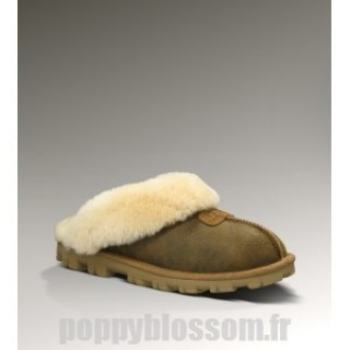 Ugg-343 bombardier Coquette chataignier chaussons