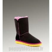Ugg Bailey Button-078 Noir Boots