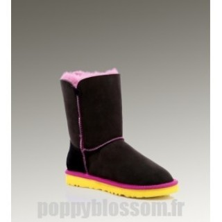 Ugg Bailey Button-078 Noir Boots