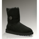 Ugg Bailey Button-079 Noir Boots