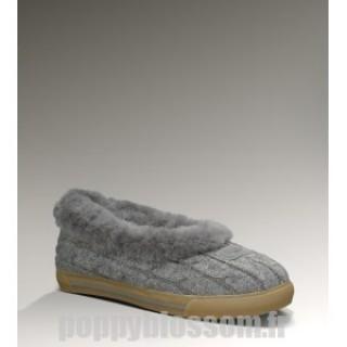 Ugg Knit-329 Rylan Gris chaussons