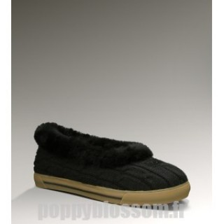 Ugg Knit-347 Rylan noir chaussons